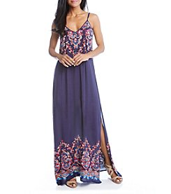 Karen Kane® Embroidered Maxi Dress