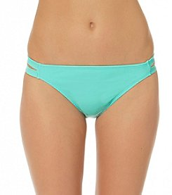 In Mocean® Twist And Shout Double Tab Side Bikini Bottom