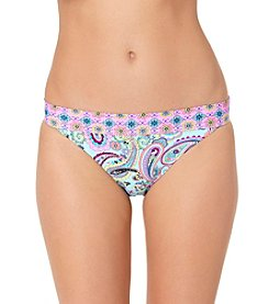 In Mocean® Paisley Print Scoop Bikini Bottoms