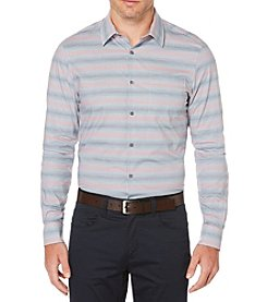 Perry Ellis® Multi-Check Ombre Button Down Shirt