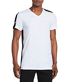 Calvin Klein Short Sleeve Solid Drop Tail Tee