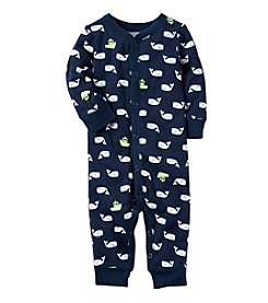 Carter's® Baby Boys' Whale Print Coverall