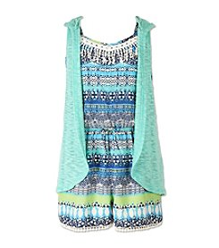 Speechless® Girls' 7-16 2 Piece Romper