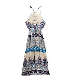 Rare Editions® Girls' 7-16 Gauze Maxi Dress