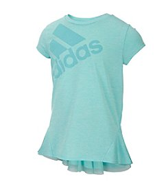 adidas® Girls' 7-16 Melange Top