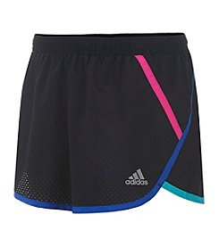 adidas® Girls' 2T-6X Finish Line Woven Shorts