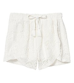Jessica Simpson Girls' 7-16 Lace Shorts
