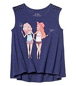 Jessica Simpson Girls' 7-16 Patriot Sparkler Girls Tee