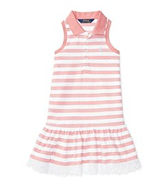 Polo Ralph Lauren® Girls' 5-6X Mesh Polo Dress