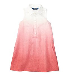 Polo Ralph Lauren® Girls' 2T-6X Dip Dye Dress