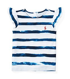 Ralph Lauren® Baby Girls' Striped Tee