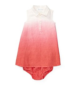 Ralph Lauren® Baby Girls' Dip Dye Dress