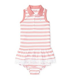Ralph Lauren® Baby Girls' Mesh Polo Dress