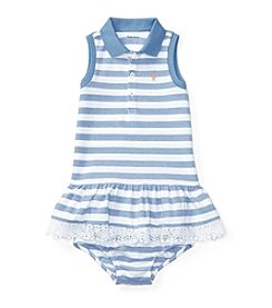 Lauren® Baby Girls' Mesh Polo Dress