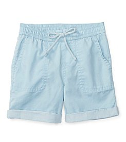 Ralph Lauren® Baby Boys' Twill Rolled Shorts