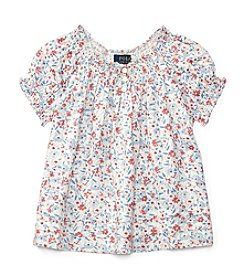 Polo Ralph Lauren® Girls' 5-6X Floral Top