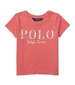 Polo Ralph Lauren® Girls' 5-6X Jersey Polo Tee