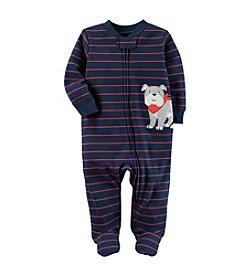 Carter's® Baby Boys Striped Dog Footie