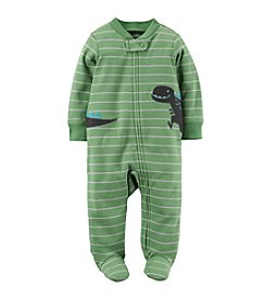 Carter's® Baby Boys Striped Dino Footie