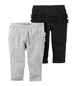 Carter's® Baby Girls' 2-Pack Pants Set