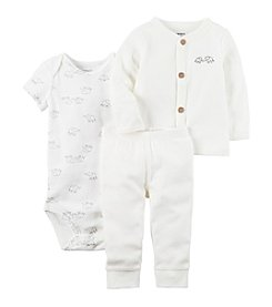 Carter's® Baby 3-Piece Elephant Bodysuit Set
