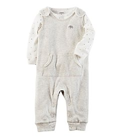Carter's® Baby 2-Piece Elephant Coverall Set