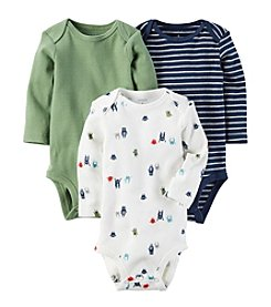 Carter's® Baby Boys' 3-Pack Side Snap Bodysuits