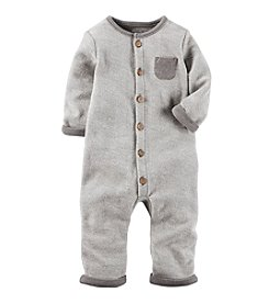 Carter's® Baby Button Up Coveralls