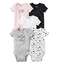 Carter's® Baby Girls' 5-Pack Bodysuits