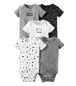 Carter's Baby Boys' 5-Pack Baby Bears Bodysuits