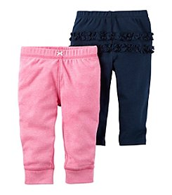 Carter's® Baby Girls' 2-Pack Ruffle Pants
