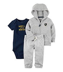 Carter's® Baby Boys' 3-Piece Hoodie Set