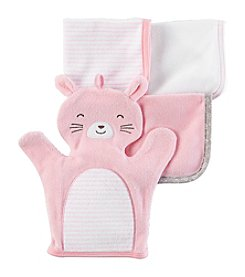Carter's® Baby 4-pack Bunny Washcloths