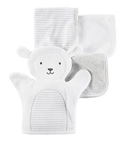 Carter's® Baby 4-pack Lamb Washcloths