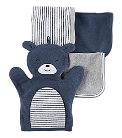 Carter's® Baby Boys' Bear 4-pack Washcloths