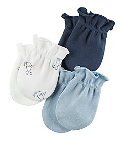 Carter's Baby Boys' 3-Pack Mittens Set