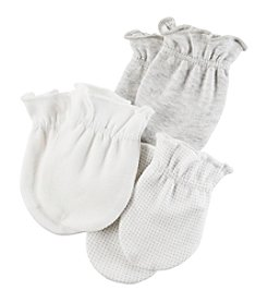 Carter's Baby 3-Pack Mittens Set