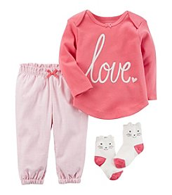 Carter's® Baby Girls' 3-Piece Love Set