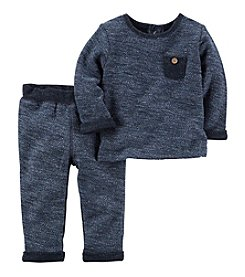 Carter's® Baby Boys' 2-Piece French Terry Top And Pants Set