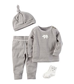 Carter's® Baby 4-Piece Elephant Take Me Home Set