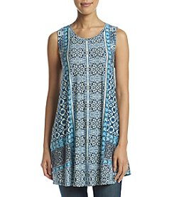 Fever™ Printed Swing Tunic Tank