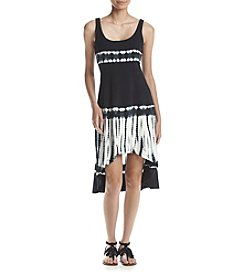 Marc New York Performance High-Low Tie Dye Tank Dress