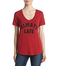 Eyeshadow® Always Late Screen Tee