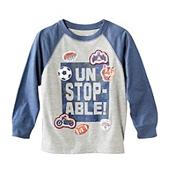 Mix & Match Boy's 2T-4T Raglan Tee