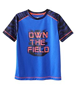 Exertek® Boys' 8-20 Printed Sleeve Graphic Tee