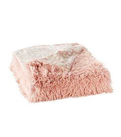 Living Quarters Shaggy Faux Fur Throw