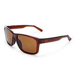 Under Armour® Tortoise/Brown Assist Sunglasses