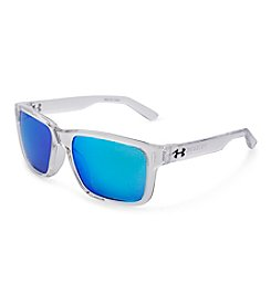 Under Armour® Clear/Blue Rookie Sunglasses