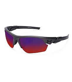 Under Armour® Black/Red Windup Sunglasses