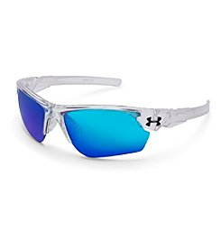 Under Armour® Clear/Blue Windup Sunglasses